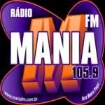 Logo da emissora R�dio Mania FM