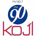 Logo da emissora Radio KOJI 90.7 FM