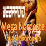 Logo da emissora Mega Nordeste