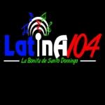 Logo da emissora Radio Latina 104 FM
