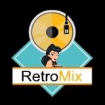 Logo da emissora Retrô Mix