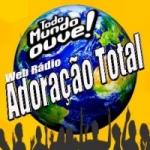 Logo da emissora Rádio  Adoração Total