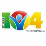 Logo da emissora R�dio Vida Nova 104.9 FM