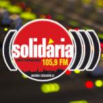 Logo da emissora Rádio Solidária 105.9 FM