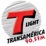 Logo da emissora Transamérica Light 90.5 FM