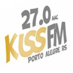 Logo da emissora R�dio Kiss FM Porto Alegre
