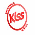 Logo da emissora Rádio Kiss FM Porto Alegre