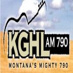 Logo da emissora Radio KGHL 790 AM