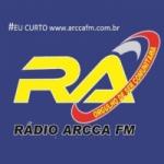 Logo da emissora Rádio Arcca FM