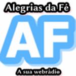Logo da emissora Web R�dio Alegrias da F�