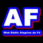 Logo da emissora Web Rádio Alegrias da Fé