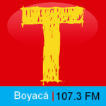 Logo da emissora Radio Tropicana 107.3 FM