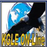 Logo da emissora Radio KGLE 590 AM
