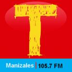 Logo da emissora Radio Tropicana 105.7 FM