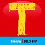 Logo da emissora Radio Tropicana 98.3 FM