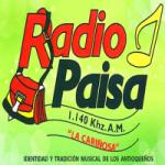 Logo da emissora Radio Paisa 1140 AM