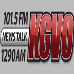 Logo da emissora Radio KGVO 1290 AM