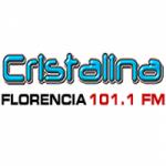 Logo da emissora Radio Cristalina 101.1 FM