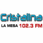 Logo da emissora Radio Cristalina 102.3 FM