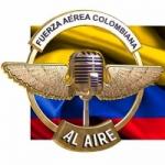 Logo da emissora Radio Fuerza Aerea Colombiana