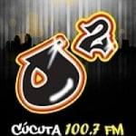 Logo da emissora Radio Ox�geno 100.7 FM