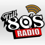 Logo da emissora Radio Full 80's