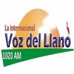 Logo da emissora Radio La Voz del Llano 1020 AM