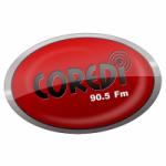 Logo da emissora Radio Coredi 90.5 FM
