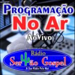 Logo da emissora Rádio Sertão Gospel