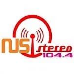 Logo da emissora Radio Nus Stereo 104.4 FM