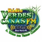 Logo da emissora Rádio Verdes Canas 104.9 FM
