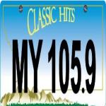 Logo da emissora KPBR 105.9 FM
