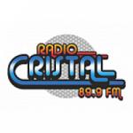 Logo da emissora Radio Cristal 89.9 FM