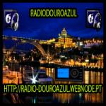 Logo da emissora Rádio Douroazul
