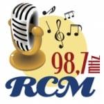 Logo da emissora Rádio RCM 98.7 FM
