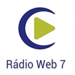 Logo da emissora Rádio Web 7