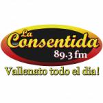 Logo da emissora Radio La Consentida 89.3 FM