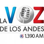 Logo da emissora Radio La Voz de los Andes 1390 AM