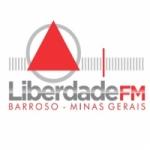 Logo da emissora R�dio Liberdade 98.7 FM