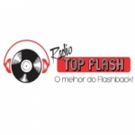 Logo da emissora Rádio Top Flash