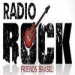 Logo da emissora Rádio Rock Friends Brasil