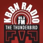 Logo da emissora Radio KBBN 98 FM