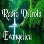 Logo da emissora Rádio Vitrola Evangélica