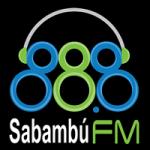 Logo da emissora Radio Sabambú Stereo 88.8 FM