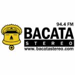Logo da emissora Radio Bacata Stereo 94.4 FM