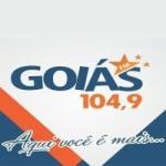 Logo da emissora Rádio Goiás 104.9 FM