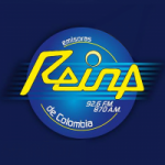 Logo da emissora Radio Reina Estéreo 92.6 FM
