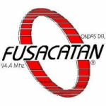 Logo da emissora Radio Ondas del Fusacatan 94.4 FM