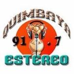 Logo da emissora Radio Quimbaya Estéreo 91.7 FM