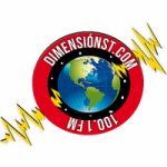 Logo da emissora Radio Dimensión Stereo 100.1 FM